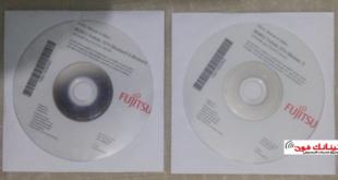 اسطوانة التعريفات الاصلية لابتوب Fujitsu Lifebook A514