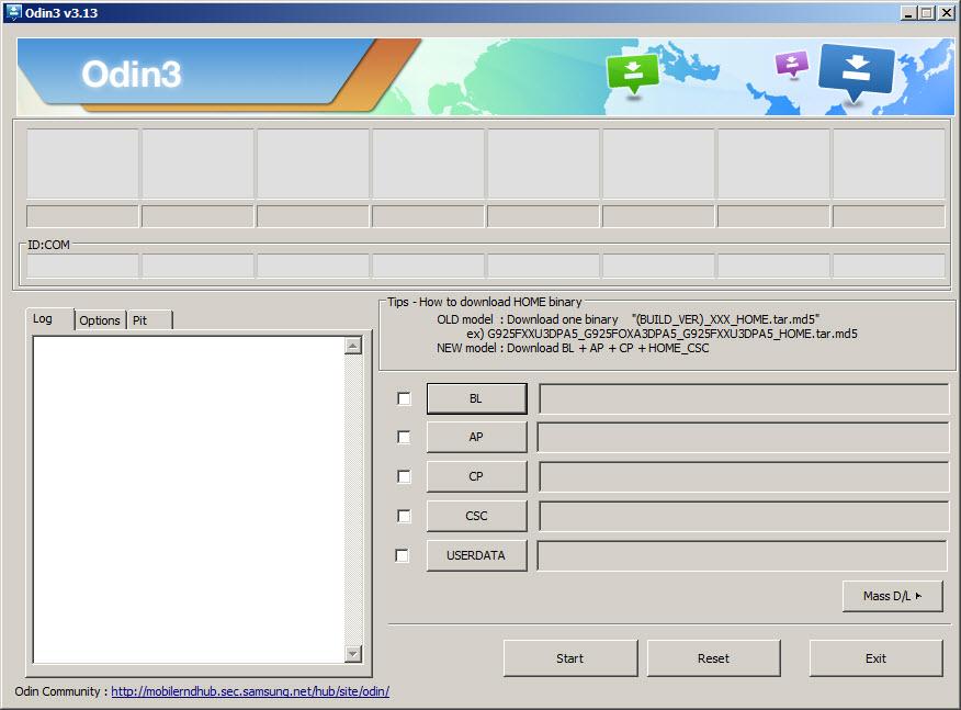 تحميل برنامج Odin اخر اصدار Odin 3.13.1 تفليش هواتف سامسوج