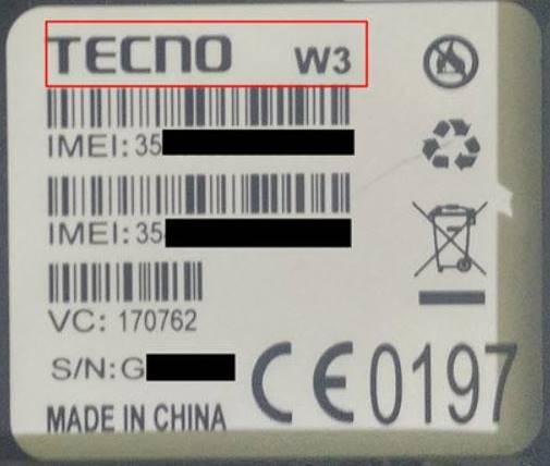 TECNO-W3